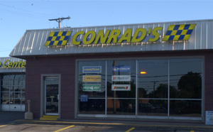 Conrad's Tire Express & Total Car Care Westpark, OH location on Lorain Avenue