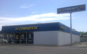 Conrad's Tire Express & Total Car Care Vermillion, OH located on Liberty Avenue
